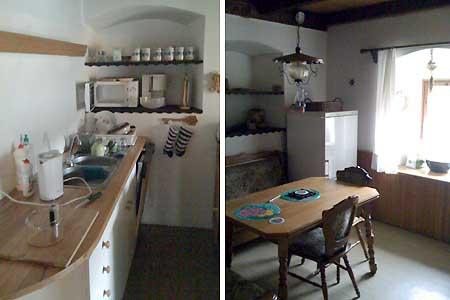 Ubytování Lipno - Chalupa na Lipně - kuchyň