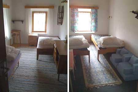 Ubytování Lipno - Chalupa na Lipně - pokoje