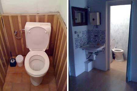 Ubytování Lipno - Chalupa na Lipně - koupelna